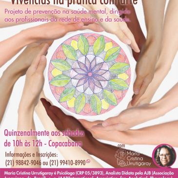 Grupo de Estudos coordenado pela Analista Junguiana Maria Cristina Urrutigaray