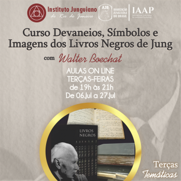 Curso Devaneios, Símbolos e Imagens dos Livros Negros de Jung